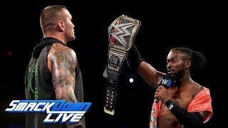 Kofi Kingston challenges Randy Orton for SummerSlam: SmackDown LIVE, July 23, 2019