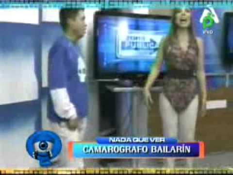 CAMAROGRAFO BAILARIN ZONA PUBLICA 18-04-2011 @ NQV - BOLIVIA