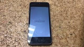 iPhone 5s no network