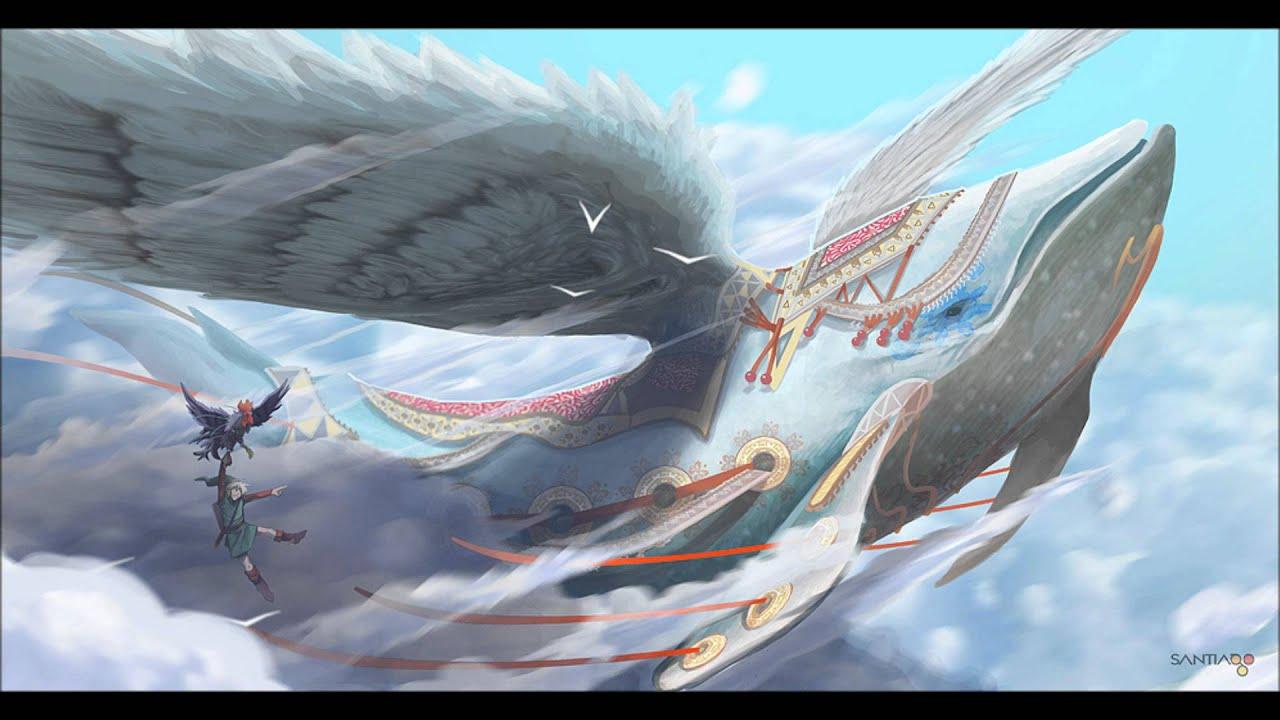 Zelda link 39 s awakening ballad of the wind fish for Fishing in the wind