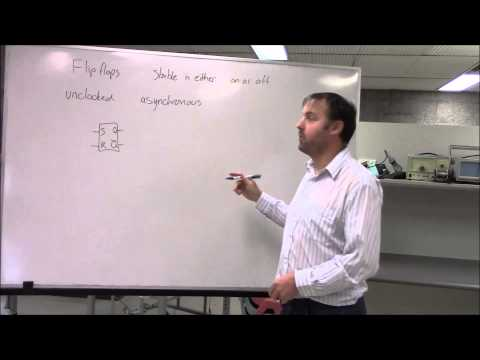 multivibrators and flip flops