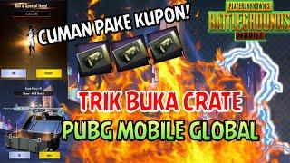 Trik Buka Crate PUBG Mobile Global Versi Gratisan