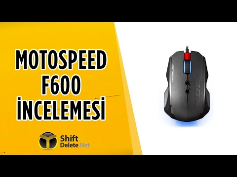 Motospeed F600 inceleme - Uygun fiyatlı oyuncu faresi!