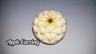 Apple Carving by Khmer Carving Arts