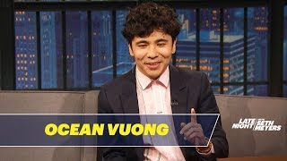 Ocean Vuong Wrote His Debut Novel in a Closet