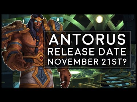 Antorus the Burning Throne Release Date - November 21st? | World of Warcraft Legion