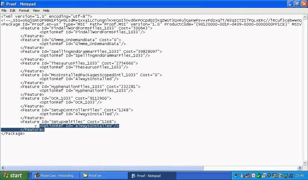 Hack Microsoft Office 2007 Product Key Code on Windows XP - YouTube