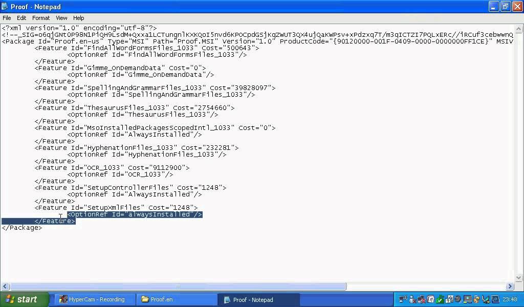 Hack Microsoft Office 2007 Product Key Code on Windows XP - YouTube