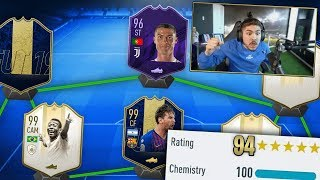 THE BEST 194 FUT DRAFT CHALLENGE!! NO WAY!!!! FIFA 19