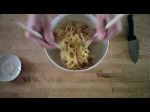 pasta: spaghetti alla carbonara – la ricetta originale