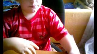 обзор на жвачку (приколы из школы)