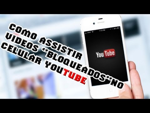 Como assistir videos ''bloqueados'' no celular(Youtube) - AMJ