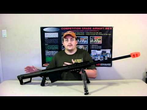 SNOW WOLF BARRETT M82 M107 REVIEW