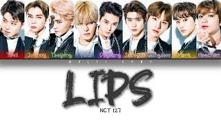 Download lagu NCT 127 - LIPS (Color Coded Lyrics KAN/ROM/ENG)
