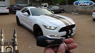 2017 Ford Mustang GT Fastback Walkaround | Borla Exhaust (In Hyderabadi)