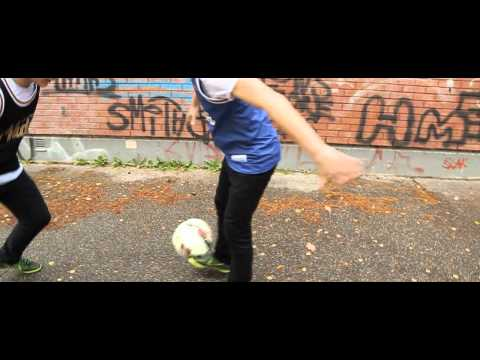 Amazing New Street Football Skills video