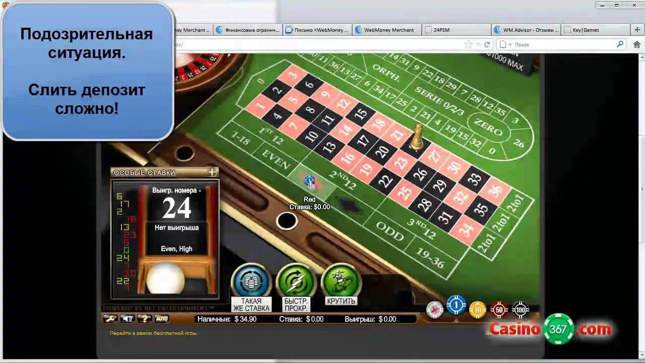 Отзывы о интернет казино
