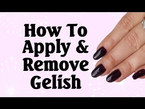 How to apply & remove Gelish gel polish   Lucy's Stash PRO