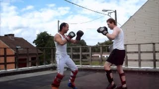 2 second lowkick knockout