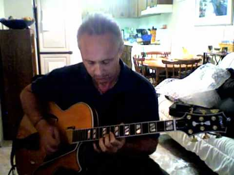 Steve Vetter - Cherokee Solo on a Blonde Conti Guitar