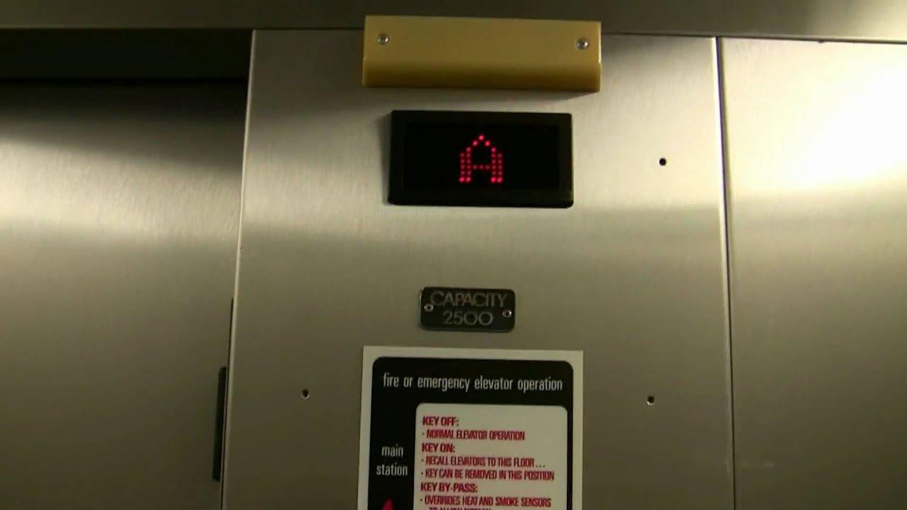 US hydraulic elevator in Grace Watson Hall, @ RIT. Take 2. - YouTube