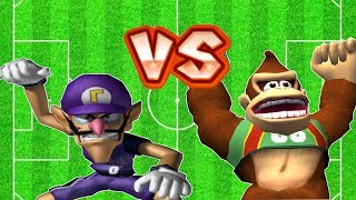 Super Mario Strikers - Waluigi Vs Donkey Kong Round 2 (Professional Difficulty) Flower Cup