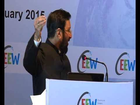 Environment Minister Prakash Javadekar addresses Council on Energy Environment and Water