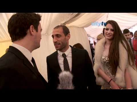 RED CARPET 1: Shay & Jane Given, Pablo Zabaleta - Fashion Kicks 2012 HD