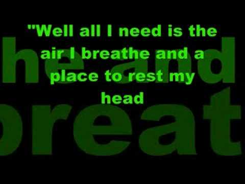 One Republic-Say All I need lyrics