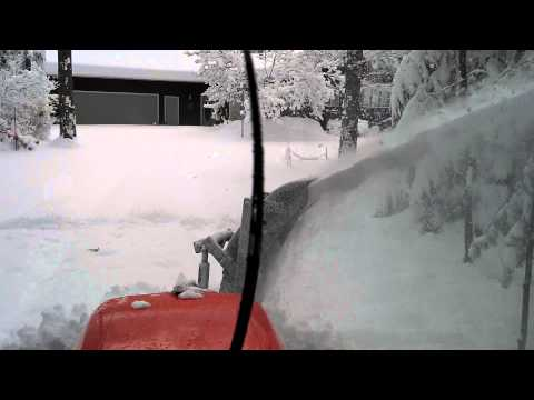Kubota L5740 Front mount  snowblower with 17