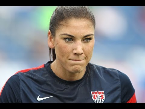 Hope Solo Charged In Domestic Violence Case. Media Blackout?