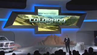 2013 LA Auto Show - Chevrolet Presentation with Colorado Debut