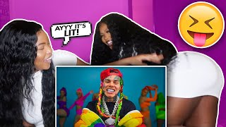6IX9INE- GOOBA (Official Music Video) REACTION | NATAYA NIKITA