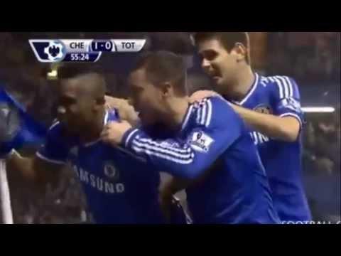 Samuel Eto Goal vs Tottenham