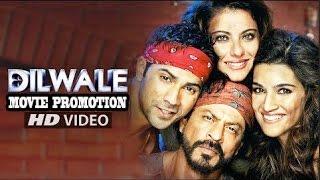 DILWALE [ दिलवाले ] HD Hindi Movie 2015 SRK, Kajol, Varun Dhawan, Kriti Sanon | Full Promotion Video