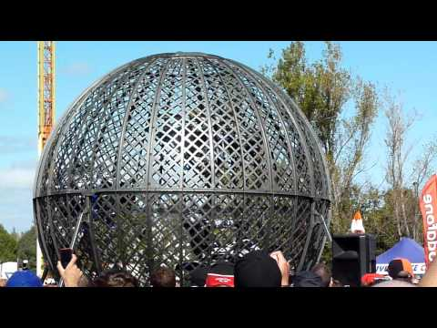 Globe of Death--Melbourne F1 Grand Prix