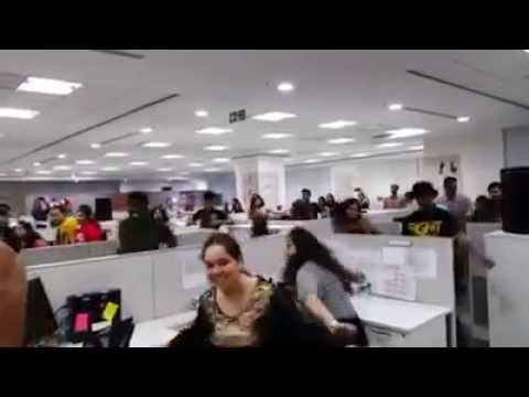 Amazing - All Employee started dancing on the floor