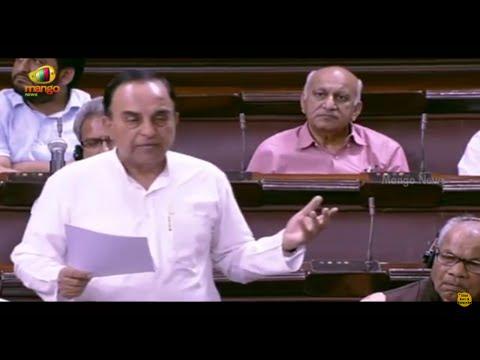 Subramanian Swamy Brings Up Sonia Gandhi's Name Again, Ruckus In RS  | AgustaWestland Scam