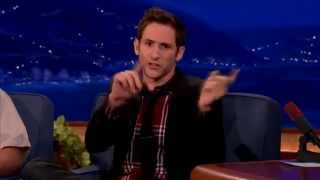 Samuel J Comroe on Conan - Twitchy Tourettes