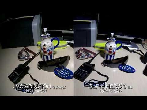 JVC Adixxion GC XA2 vs GoPro