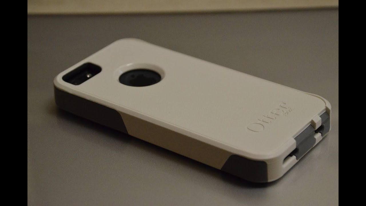 Otterbox Commuter Case (White/Gun Metal Grey) - iPhone 5/5S - Indepth Review - YouTube