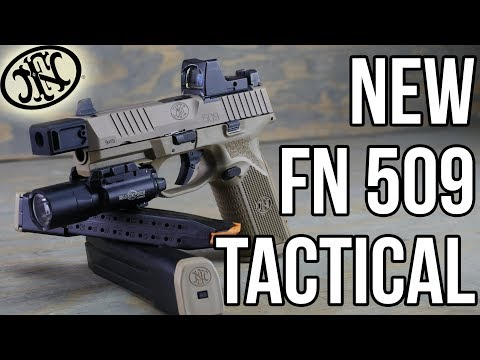 FN 509 Tactical First Shots   Innovation Is Alive In The Industry!