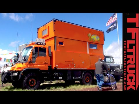 Extreme Mercedes-Benz Unimogs & Wild Trucks of the 2015 Overland Expo