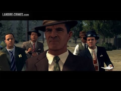 LA Noire - Walkthrough - Mission #9 - The Golden Butterfly (5 Star)