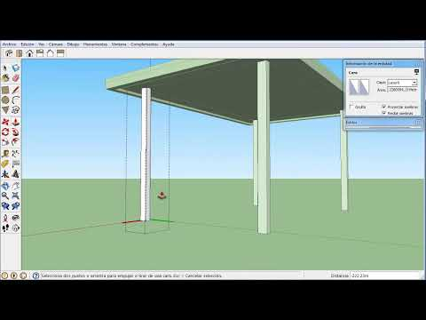 Mover y Copiar Part 2 en español - Sketchup