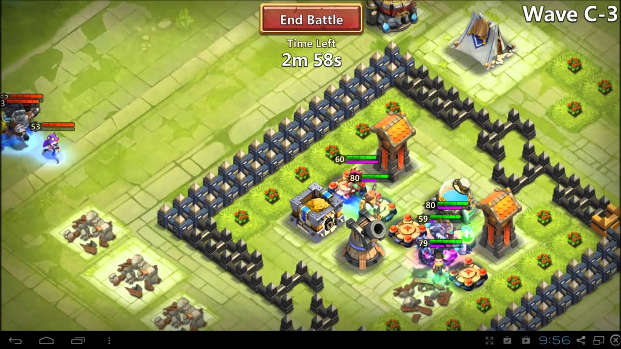 castle clash how to play