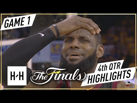 Cleveland Cavaliers vs Golden State Warriors - Game 1 - 4th Qtr Highlights | 2018 NBA Finals