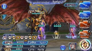Dark Bahamut (Hard) - 8-21 The Dragon King (All Missions Completed) | DFFOO