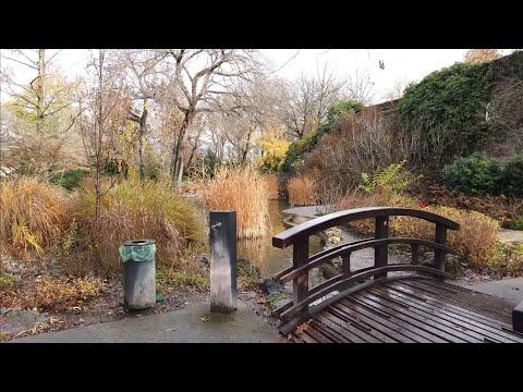 """4K Walk - Budapest, Hungary """"Japanese Garden in Margaret Island"""""""