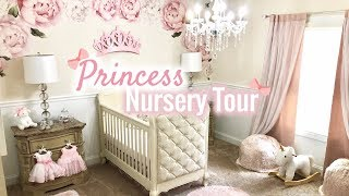 BABY GIRL NURSERY TOUR! | Princess Nursery 2018 | LGQUEEN Home Decor